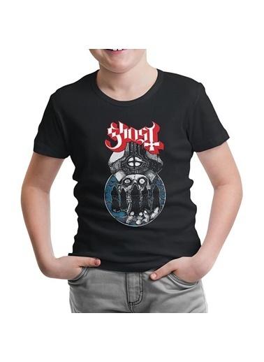 Lord Tshirt Ghost Siyah Çocuk Tshirt Siyah